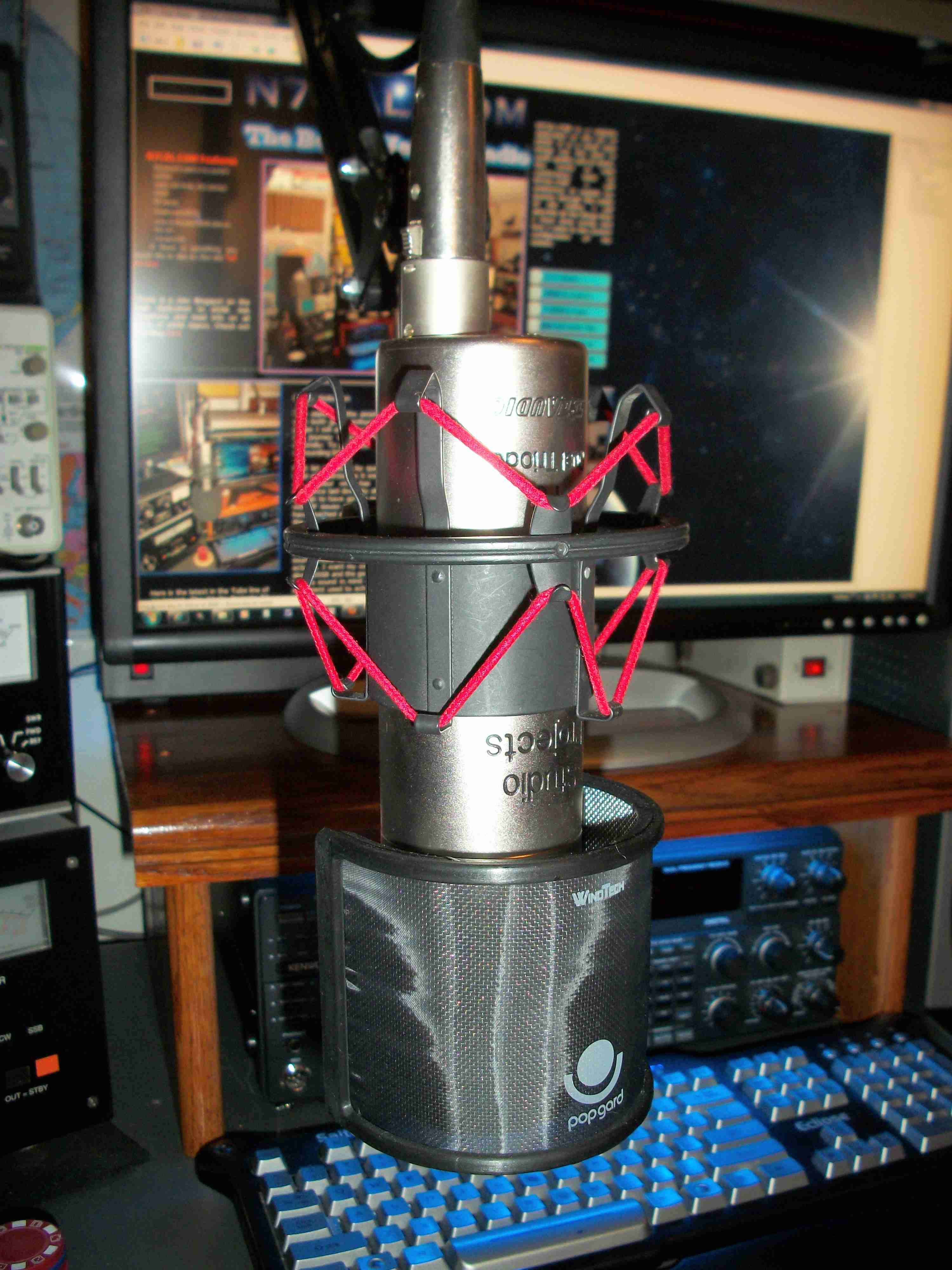 The N7CAL Voodoo Tube Mic!