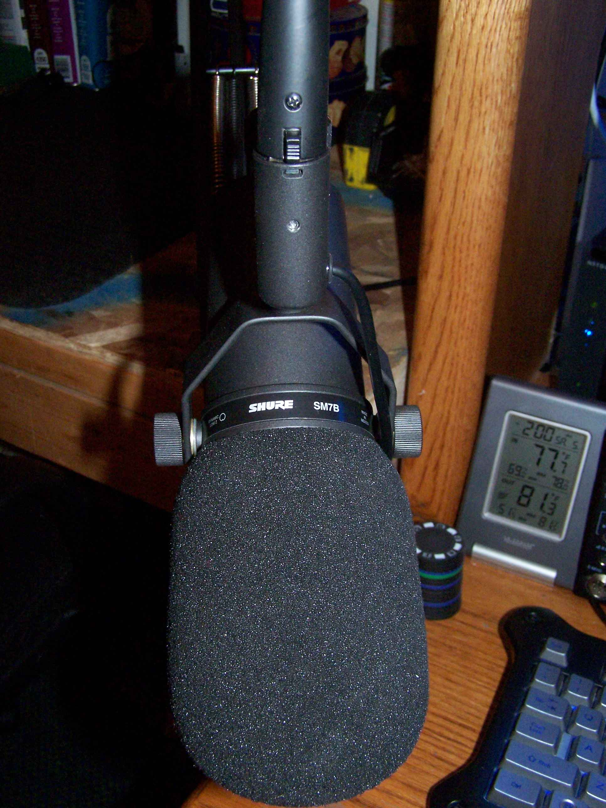 Here's the old SM7B Voodoo Mic!