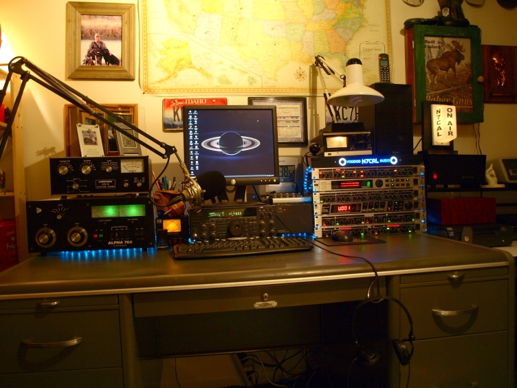 Here's the old N7CAL Voodoo Studio!