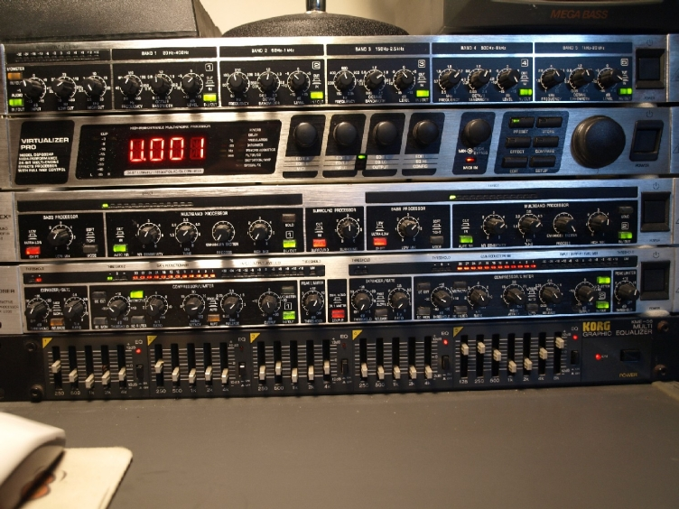 The N7CAL Old Voodoo Rack!